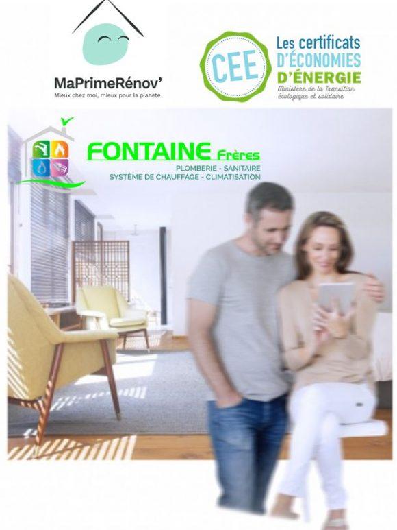 Nouvelle aide à la rénovation énergétique: Ma Prime Rénov' + certificat d'économie d'énergie